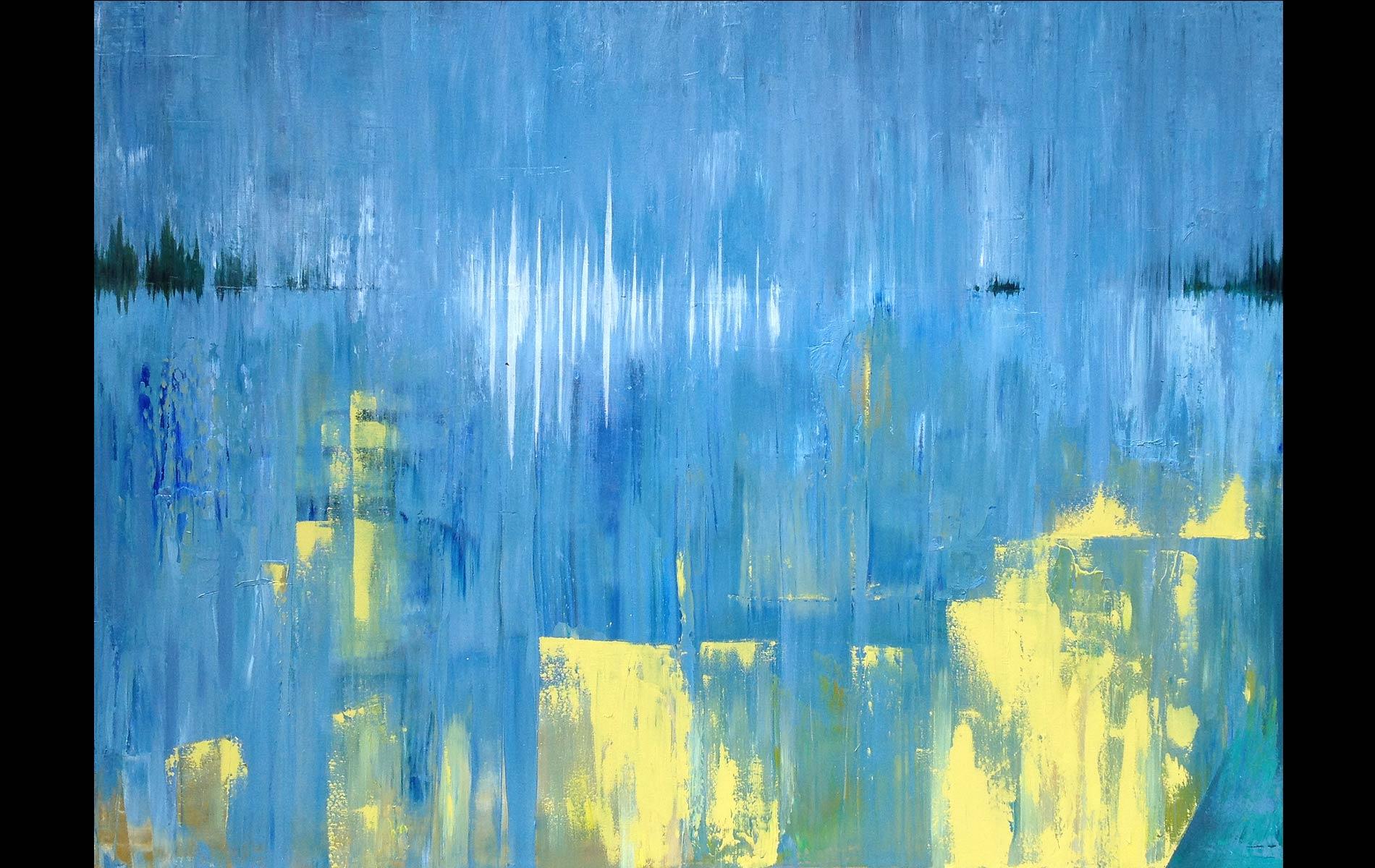 Beach, 2013, Oil on Canvas, 36 x 48