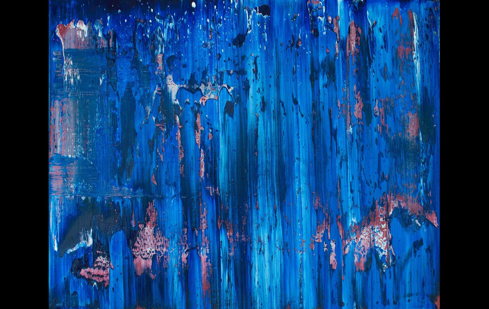 Deep, 2013, Oil on Canvas, 18 x 20