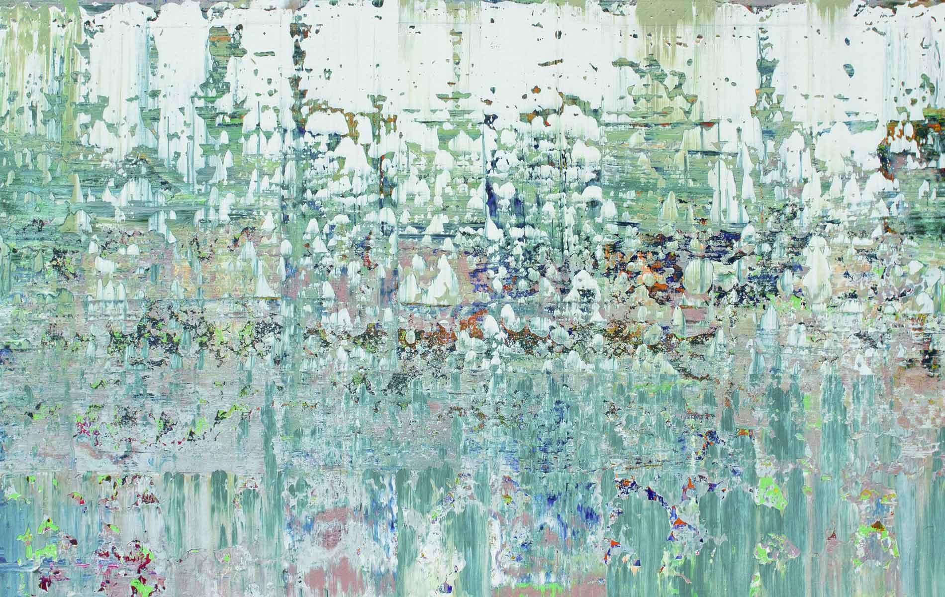 Horizon, 2014, Acrylic on Canvas, 42 x 64