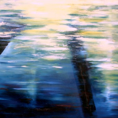Lanes, 2012, Oil on Canvas, 36  x 48  - SOLD