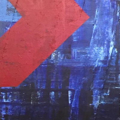MarkLogic, 48x72, Acrylic, 2014, Not For Sale
