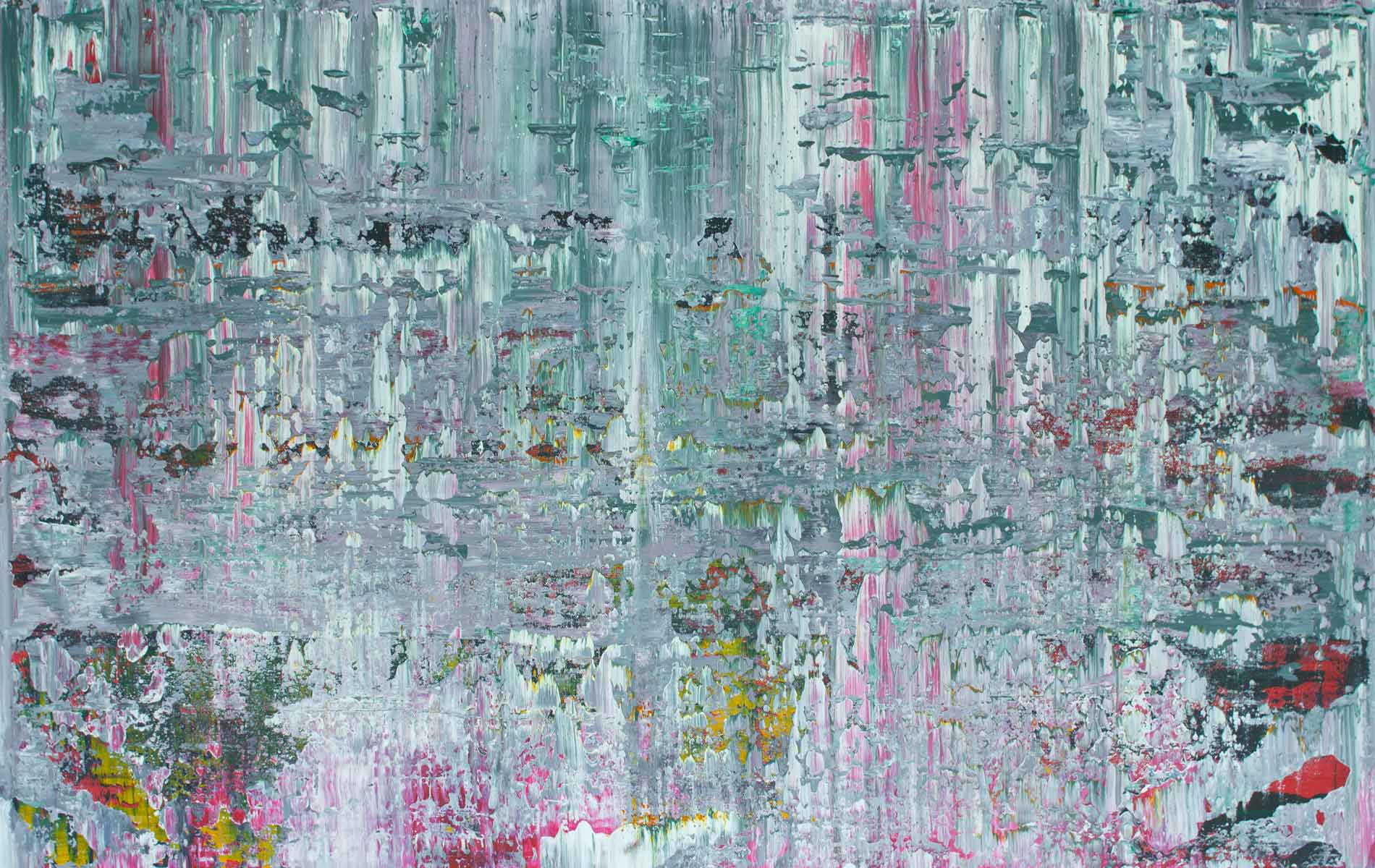 Patio, 2014, Acrylic on Canvas, 38 x 58