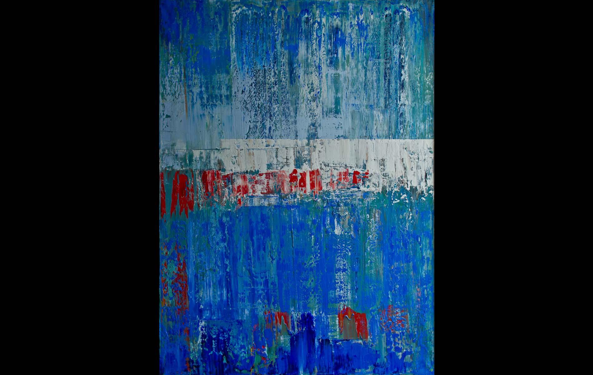 Trawlers, 2013, Oil on Canvas, 68 x 40